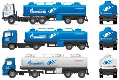 Газпром. Вязкость 15W140, минеральное