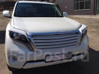 Накладка на фару. Toyota Land Cruiser Prado