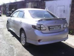 Обвес кузова аэродинамический. Toyota Corolla