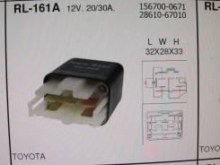 РЕЛЕ RL-161A 12V 2030A 28610-67010, заднее