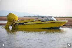 Лодки Катера Моторы. Год: 1993 год, длина 3,80м., двигатель подвесной, 40,00л.с., бензин