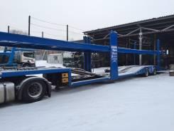 KAMAWEST, 2009. Автовоз прицеп Kamawest, 27 000 кг.