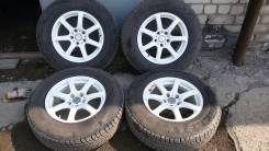 Зимние колеса в идеальном состоянии 225/70R16. 8.0x16 5x114.30 ET35