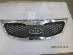 Решетка радиатора. Kia Sorento, XM Двигатели: G4KE, D4HB