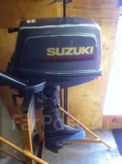 Suzuki. 5,00л.с., 2х тактный, бензин, нога S (381 мм), Год: 2002 год