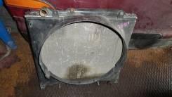 Радиатор с диффузором на MMC-Delica. Mitsubishi Delica, PD4W Двигатель 4G64
