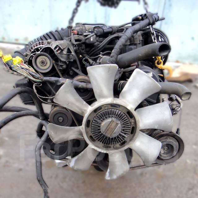 Контрактный б/у двигатель 6G72 Mitsubishi Pajero 2