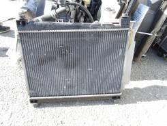 Радиатор охлаждения двигателя. Toyota ist, NCP61 Двигатель 1NZFE