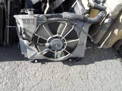 Радиатор охлаждения двигателя. Toyota Sienta, NCP81 Двигатель 1NZFE
