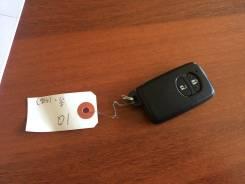 Ключ зажигания, смарт-ключ. Toyota Blade, AZE154, AZE154H, AZE156, AZE156H, GRE156, GRE156H Toyota iQ, KGJ10, NGJ10, NGJ10L Двигатели: 2AZFE, 2GRFE, 1...