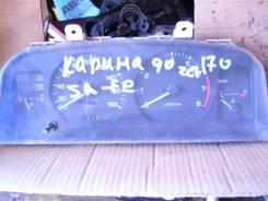 Панель приборов. Toyota Carina, AT170, AT170G Двигатель 5AF