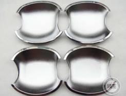 Хромированные чаши под ручки Toyota Corolla Allex Runx Ist Alleonи. д. Toyota Corolla Toyota ist Toyota Allex Toyota Corolla Runx. Под заказ