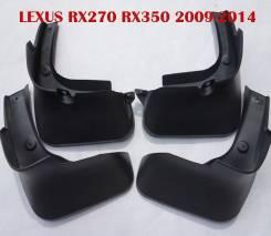 Брызговики. Lexus RX450h, GGL15, GYL15, AGL10, GYL16W, GYL10W, GYL15W Lexus RX270, AGL10W, GYL15, GGL15, AGL10 Lexus RX350, GGL16W, AGL10, GGL15, GYL1...