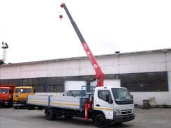 Mitsubishi Fuso. Fuso Canter от официального представителя в Красноярске ( Борт c КМУ), 4 899 куб. см., 4 500 кг.