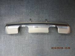 Накладка на бампер. Mitsubishi Pajero Junior, H57A
