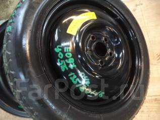 Продам запаску {банан} T135/80D16 Subaru. 4x16 5x100.00 ЦО 56,0мм.