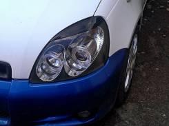 Накладка на фару. Toyota Vitz, NCP10, NCP13, NCP15, SCP10