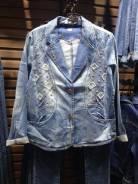 Куртки джинсовые. 50