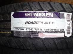 Nexen Roadian A/T II. Грязь AT, 2014 год, без износа, 4 шт
