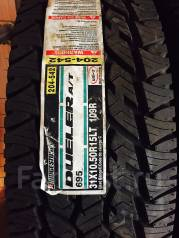 Bridgestone Dueler A/T 695. Грязь AT, без износа, 4 шт