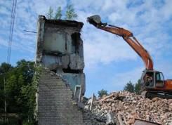 Стеновые панели, плиты, блоки. Демонтаж, снос, разбор любых зданий, сооружн.
