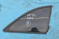 Стекло боковое. Nissan Skyline, HR33 Двигатель RB20E