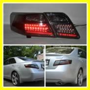Задняя оптика Black светодиодные Toyota Camry V40 (Тойота Камри 40). Toyota Camry, ACV40, ASV40, AHV40, CV40, GSV40, SV40