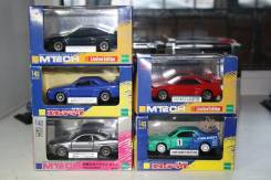 1/43 Комплект моделей Nissan Skyline GTR R34 Mtech 4шт