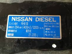 Двигатель. Nissan Diesel