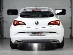 Выхлопная система. Opel Astra