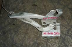 Крепление капота. Toyota Allion, ZRT260 Двигатель 2ZRFE