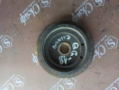 Шкив коленвала. Nissan Bluebird Sylphy, QG10 Двигатели: QG18DE, QG18