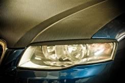 Накладка на фару. Audi A4, B7