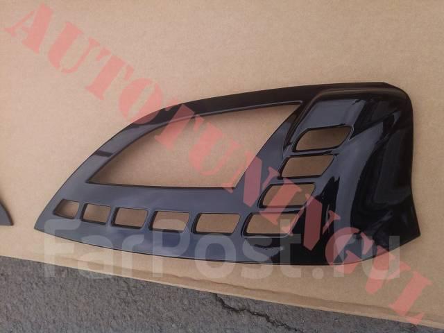 Накладка на фару. Nissan X-Trail, HNT32, HT32, NT32, T32 Двигатели: MR20DD, QR25DE, R9M