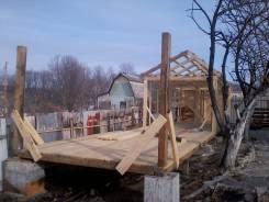 Услуги плотника. Строительство дач, беседок , бань и т. д.