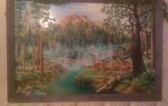 """Картина маслом """"Природа"""""""
