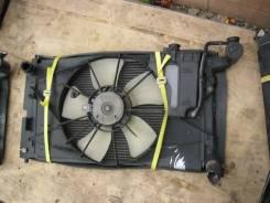 Радиатор охлаждения двигателя. Toyota Corolla, NZE121 Двигатели: 1NZFE, 1NZ