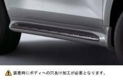 Накладка на подножку. Toyota Land Cruiser