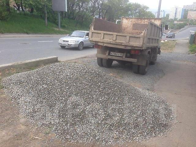 Предлагаем доставку песка, щебня, отсева
