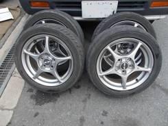 Комплект колес Ralliart (#180). 6.0x16 5x114.30 ET46 ЦО 67,0мм.