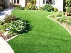 Искусственная трава для ланшафтного дизайна, газона, декора