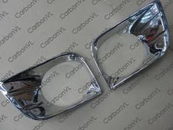 Накладка на фару. Toyota Land Cruiser Prado, GRJ150W, GRJ151W, TRJ150W