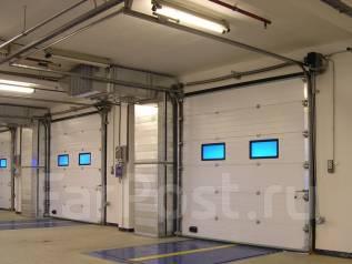 Автоматические ворота: секционные, откатные. Шлагбаумы, заборы 3-D