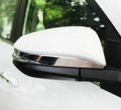 Накладка на зеркало. Toyota RAV4, ZSA42L, ASA44L, ALA49L, ZSA44L