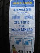 Maxtrek Sierra S6. Летние, 2017 год, без износа, 4 шт