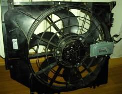 Вентилятор охлаждения радиатора. BMW 3-Series, E46/3, E46/2, E46/4, E46 Двигатели: M54B22, M54B25, M54B30, M52T, N46B20, M43T, M52, M54, M43, N42, N40...