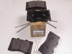Колодка тормозная. Nissan Patrol, Y62 Двигатели: VK56DE, VK56VD, VQ40DE