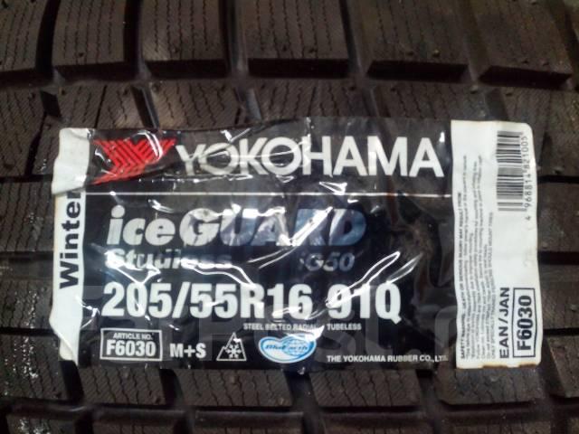 Yokohama Ice Guard IG50. Зимние, без шипов, 2013 год, без износа, 1 шт