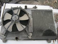 Радиатор охлаждения двигателя. Toyota Sprinter, AE100 Двигатель 5AFE