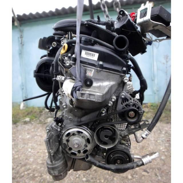 Контрактный б/у двигатель 1KR-FE на Toyota